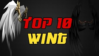 ⌠Aqw⌡ |Top 10 |【Wings】