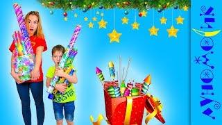 НАШЛИ ДЕНЬГИ! Как купить МНОГО ХЛОПУШЕК на Новый год за 50 рублей?