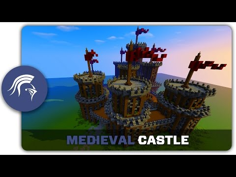 Medieval Castle Tutorial Minecraft Project