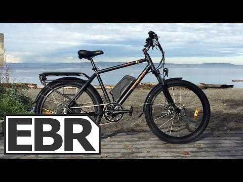 Rad Power Bikes RadCity Video Review – Sturdy City Commuter Ebike with Regen