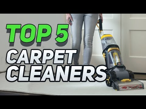▶️ Top 5  Best Carpet Cleaners You Can Buy In 2019