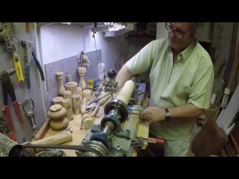Copiador casero para torno de madera