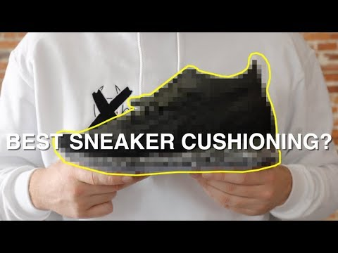 The BEST New SNEAKER CUSHIONING Technology!
