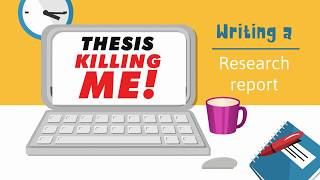 How to write your research report / research paper