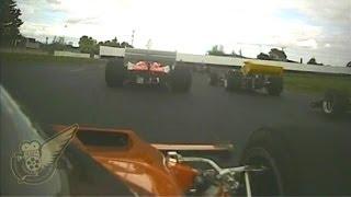 Formula 5000: McLaren M22 at Manfeild