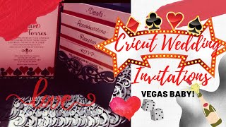 Cricut Design Space Wedding Invitations