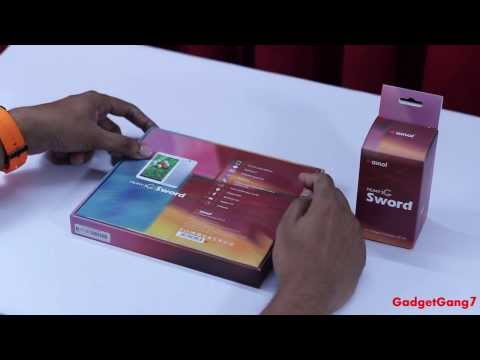 Ainol Numy 3G Sword or AX3 Unboxing by GadgetGang7