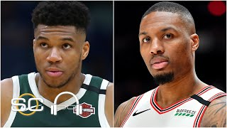 Damian Lillard worried about rules in the bubble and Giannis talks NBA Finals asterisk   SC with SVP