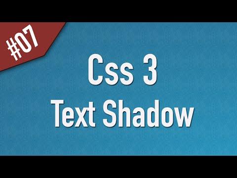 تعلم CSS3 القائمة #1 الفديو #7