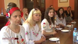 preview picture of video 'Studentki z Ukrainy odwiedziły Wejherowo'