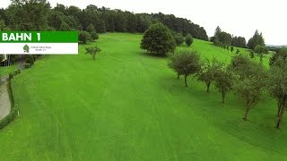 preview picture of video 'Bahn 1 | Golfclub Sieben-Berge Rheden'