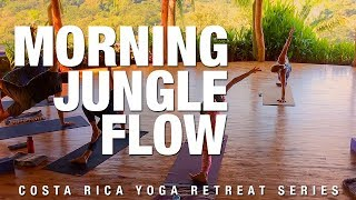 Morning Jungle Flow Yoga Class - Five Parks Yoga - Yoga Retreat Series
