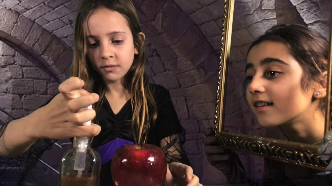Blancanieves - Como se rodó - Espejito Mágico y Reina Maligna