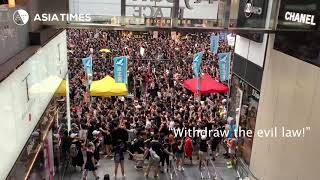 'Two Million' Protest Against HK Extradition Law