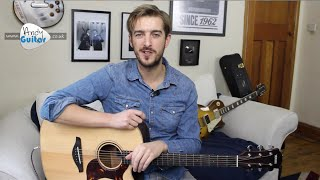 The Chain - Fleetwood Mac Guitar Lesson // VERY Easy Riff