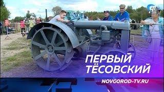 В Тёсово-Нетыльском прошел первый фестиваль ретро-техники «ТёсовоФёст»