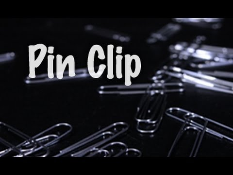 Pin Clip by Nicholas Lawrence and Sensor Magic