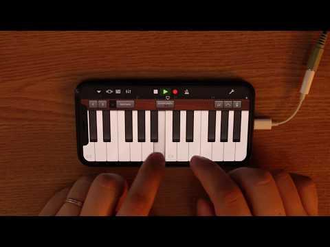 Eminem - Mockingbird on iPhone (GarageBand) (видео)