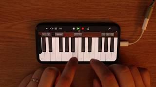 Eminem - Mockingbird on iPhone (GarageBand)
