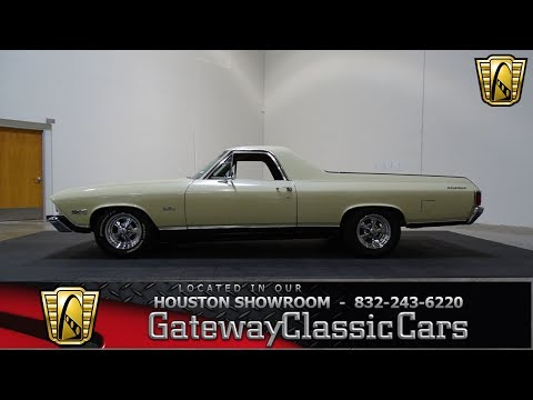 Video of Classic 1968 Chevrolet El Camino Offered by Gateway Classic Cars - Houston - L7HC