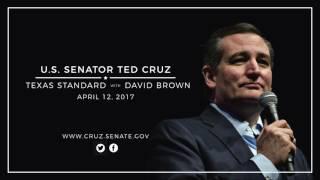 Sen. Cruz Discusses Syria & Obamacare on Texas Standard w David Brown