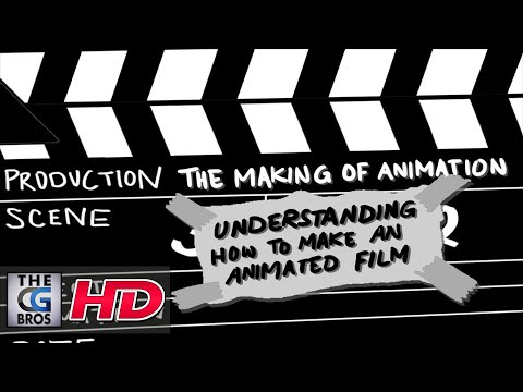 "CGI 2D Animated Short: ""The Making Of Animation"" – by Archie Eka"