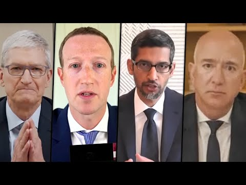 Congress HAMMERS Major Tech CEOs In Antitrust Hearing
