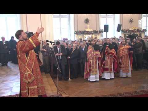 При храме воскресения христова на семеновской