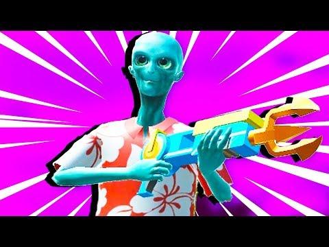 STICK FIGHT GOLDEN GOD GUN! - Stick Fight Pistol Only Challenge! - Stick Fight Gameplay