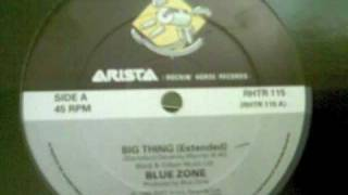 Lisa Standfield with Blue Zone 'Big thing' (Extended) - 1988