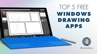 Testing 5 Free Windows Drawing apps