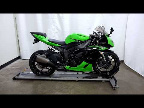 2011 Kawasaki Ninja® ZX™-6R in Eden Prairie, Minnesota - Video 1