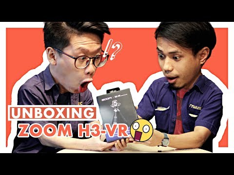 Zoom H3-VR: Unboxing | 360 Audio Mic Made Affordable?!