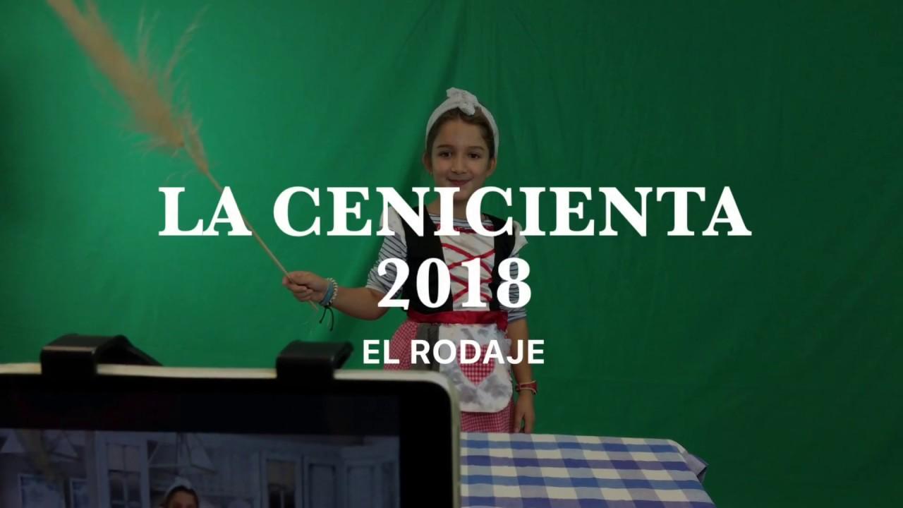 La Cenicienta 2018 - Momentos del rodaje