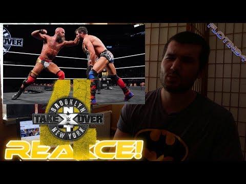 NXT Takeover Brooklyn 4 - NXT Title Tommaso Ciampa vs Johnny Gargano REACTION