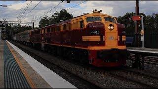 4403, 4490 | Southern Aurora Car transfer | Cowan