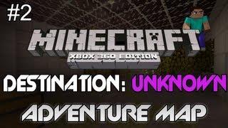 """Minecraft: Xbox 360 - """"Destination: Unknown"""" Part 2 - TU8 - The Arcade! (Custom Adventure Map)"""
