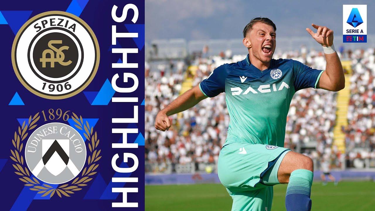 Spezia 0-1 Udinese | Vittoria di misura per l'Udinese | Serie A TIM 2021/22