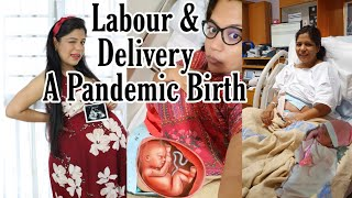 My Labour and Delivery Story After A Misscarriage A PANDEMIC BIRTH SINGAPORE Vlog SuperPrincessjo