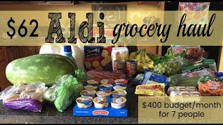 JUNE 2019 EXTREME BUDGET LARGE FAMILY MONTHLY GROCERY HAUL
