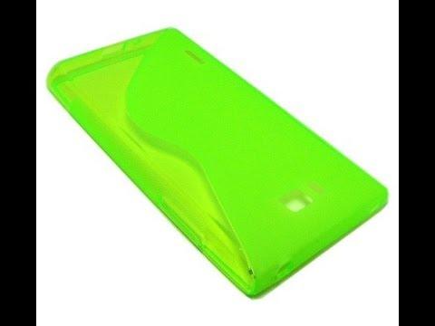 S-Line Hülle für LG Optimus L7 P700 grün