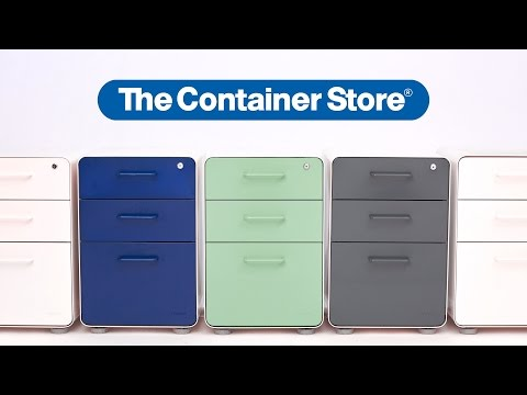 Poppin Stow File Cabinets