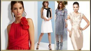 НАРЯДНЫЕ ПЛАТЬЯ 2018💜  КАК ВЫБРАТЬ ПЛАТЬЕ💜 WOMAN DRESSES