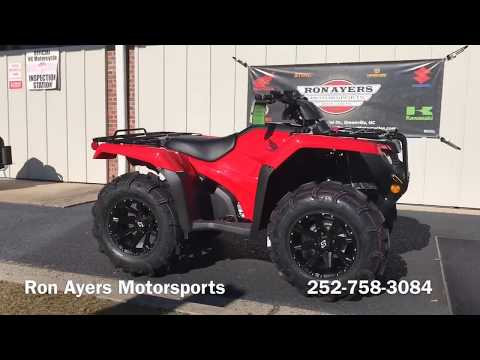 2019 Honda FourTrax Rancher 4x4 in Greenville, North Carolina - Video 1