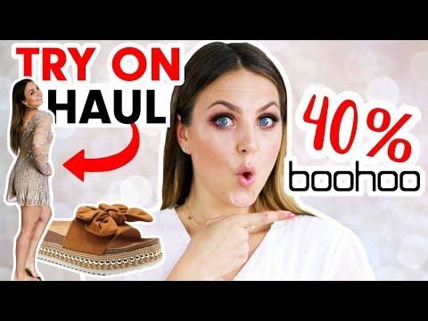 Boohoo TRY ON FASHION HAUL 2019 deutsch I Schicki Micki