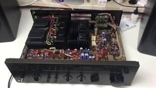 technics su-v450 stereo integrated amplifier review - TH-Clip