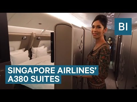 Inside Singapore Airlines' New Hotel-Style Suites