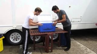 Sean Teale & Jonathon Kelt: Ice Bucket Challenge