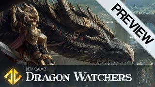 Dragon Watchers Illustration Tutorial Preview