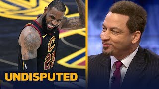 Chris Broussard on LeBron's Cavaliers winning their 13th straight game | UNDISPUTED